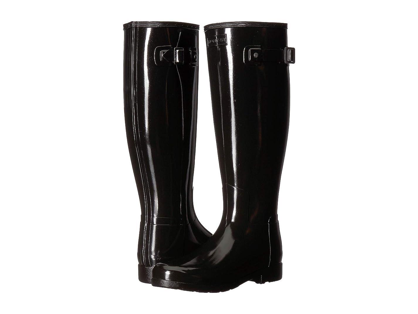 液体吸収する生産性[ハンター] レディースレインブーツ?長靴 Original Refined Wide Fit Rain Boots [並行輸入品]