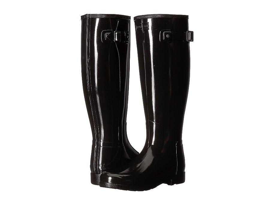 コインランドリー眠いです民族主義[ハンター] レディース ブーツ&レインブーツ Original Refined Wide Fit Rain Boots [並行輸入品]