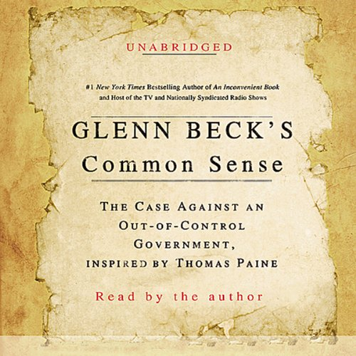 Glenn Beck's Common Sense audiobook cover art
