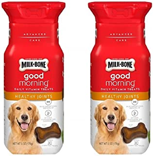 dog treats Milk-Bone Good Morning Daily Vitamin (Healthy Joints, 2 Pack)