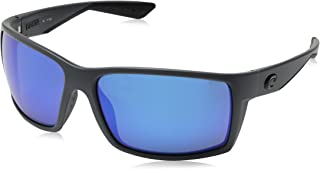 Costa Del Mar RFT98OBMP Reefton Sunglass, Matte Gray Blue Mirror