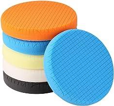 "SPTA 5Pcs 5.5"" Face for 5"" Backing Plate Compound Buffing Sponge Pads Polishing.."