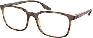 Prada Sport - PS05MV Matte Havana Rectangle Women Eyeglasses - 53mm