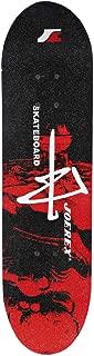 Joerex Skateboard - Red and Black