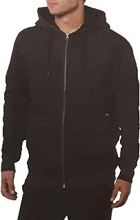 Men's Full-Zipper Warm Hooded Fleece Jacket 1241027