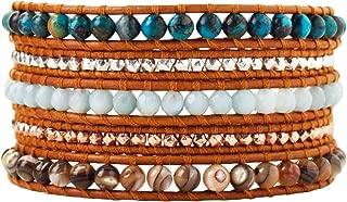 Chan Luu Women's Semi-Precious Stone Five-Wrap Bracelet