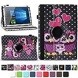 NAmobile Tasche für Vodafone Tab Prime 6/7 Tablet Hülle Schutzhülle Hülle Farbwahl Cover, Farben:Motiv 4