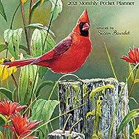 Songbirds 2021 Monthly Pocket Planner