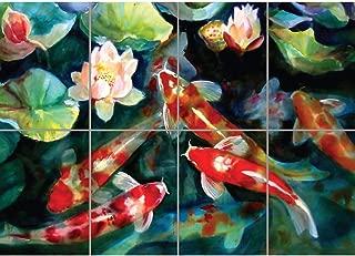 Doppelganger33 LTD Water Fish Pond KOI CARP New Giant Art Print Poster G1530