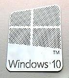 VATH Made Compatible Microsoft Windows 10 Metal Sticker 16 x 23mm [882]