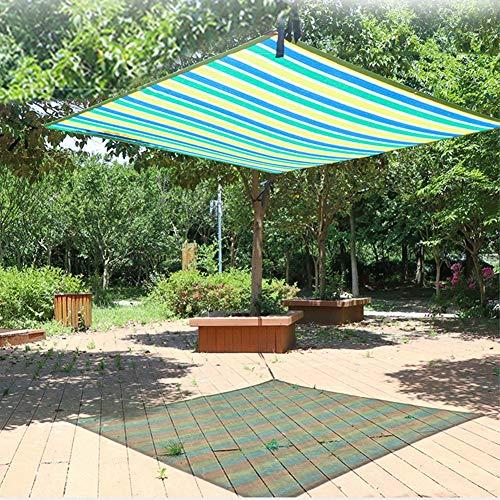 LSM Velas de Sombra Pantalla de Privacidad de Tela de Sombra Exterior para Patio Planta Cubierta de Piscina Pérgola Jardín de Césped Patio Trasero, Exterior 90% Anti-UV y Velas A Prueba de Viento