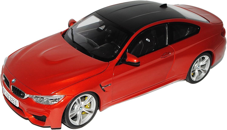 Jadi BMW 4er Coupe M4 F82 Sakhir Orange Ab 2014 1 18 Modell Auto B01K56ZH8I Moderne und stilvolle Mode  | Zürich