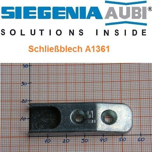 SI Siegenia Schließblech Schließstück 56 A1361 Schliessblech Schliessstuk