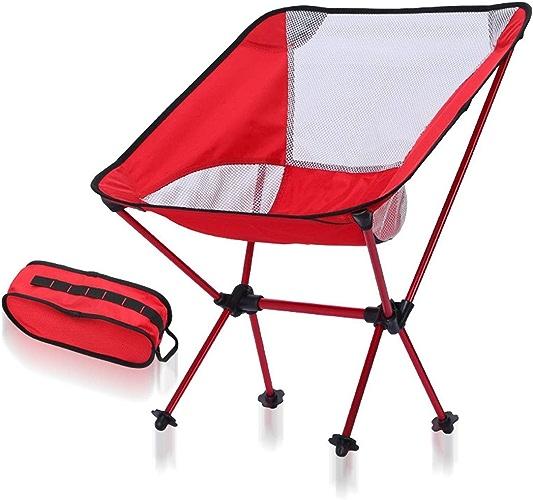 Limeinimukete Chaise de Camping Ultra légère et compacte Assemblée Capacité de Charge 150 kg Alliage d'aluminium Pêche Randonnée Escalade Cherry Blossom Feu d'artifice Affichage Stockage Facile