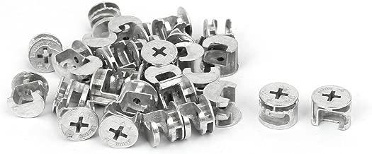 Viti per mobili Viti Ikea M7 x 70 mm CONFIRMAT viti zincate Confezione da 40 Viti a grana fine per truciolato