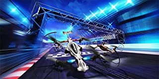 Kyosho Zehpr 20572BK B Ready to Fly RC Drone Racer, Black