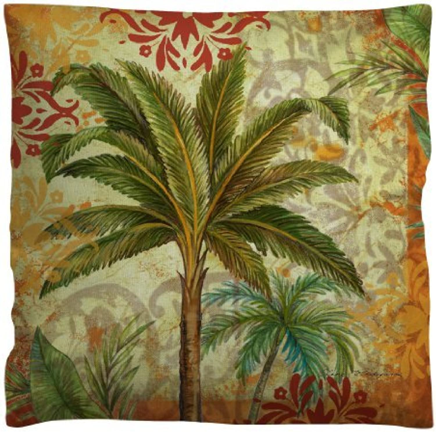 Manual Woodworkers golden Palm Outdoor Pillow No Size