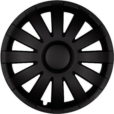 Autoteppich Stylers 14 Zoll Radkappen Agat Schwarz Matt Farbe Und Größe Wählbar Auto