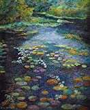 Vancouvers Water Lily Pond an Inspiration by Rita Hoffman Shulak (American 20th Century) Poster Print by Rita Hoffman Shulak (24 x 36)