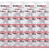 kraftmax 40er Pack Knopfzelle Typ 364 (AG1 / LR621 / LR60) Hochleistungs- Batterie / 1,5V Uhrenbatterie für professionelle Anwendungen - Neuste Generation