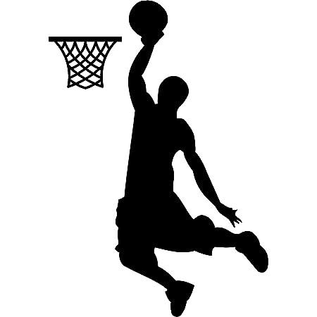 Wandtattoo Basketball Basketballspieler Stern Jugendzimmer Teenager