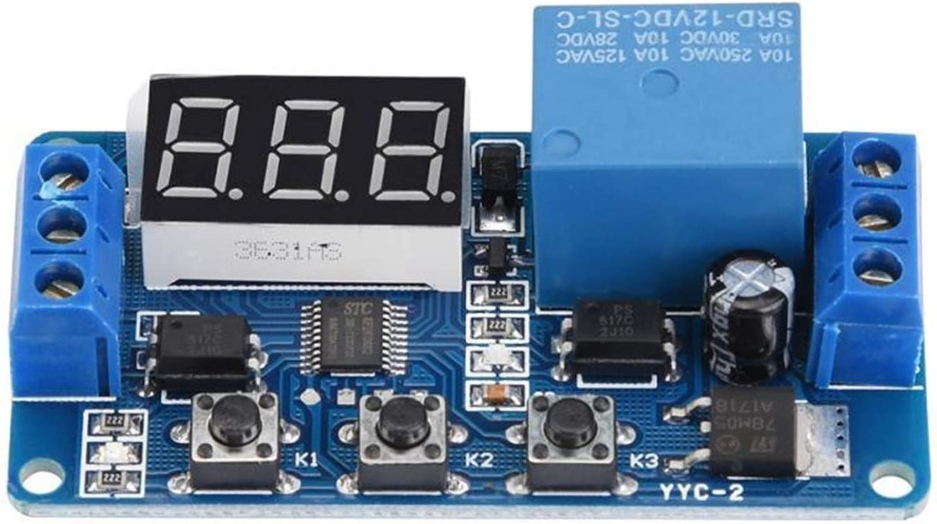 Relay YYC-2 LED Display overseas Timer Contro Automation Financial sales sale Adjustable