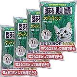 アイリスオーヤマ 猫砂 ウッディフレッシュ 7L×4袋 WF-70 固まる 脱臭 抗菌 ベントナイト