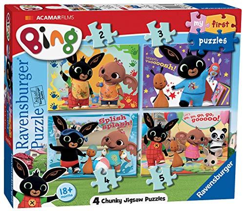 Ravensburger-6834 Ravensburger Bing Bunny-My First Jigsaw Pu