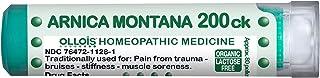 OLLOIS Arnica Montana 200CK Organic, Lactose-Free Homeopathic Medicines for Pain, Trauma, Bruising