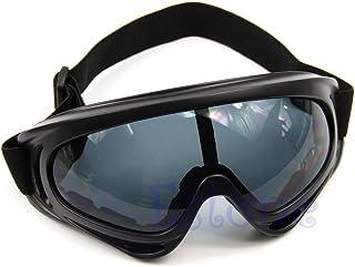 Gafas de sol de cristal a prueba de polvo para snowboard