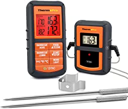 ThermoPro TP08S Wireless Digital Meat Thermometer for Grilling Smoker BBQ Grill Oven..