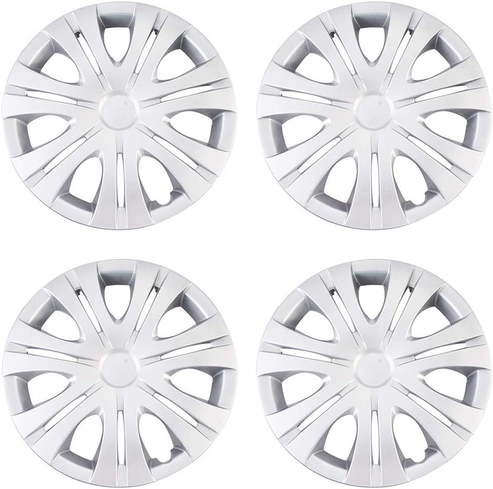 XhuangTech 4Pcs Set Car Japan's largest Manufacturer OFFicial shop assortment Chrome Wheel Cover Rim Caps Hub Skin