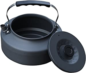 Camp Life Outdoor Anodized Camping Hiking Kettle Portable Teapot