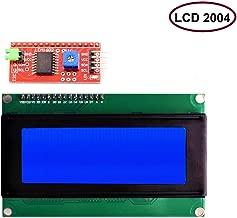 DaFuRui IIC I2C TWI Shield Blue Backlight 2004 20x4 LCD Module Serial Interface Compatible for Arduino UNO R3 MEGA2560