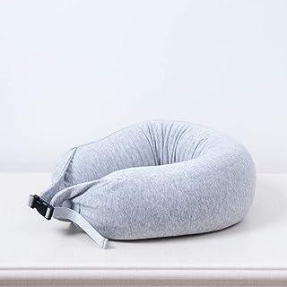 U-Shaped Pillows for Men and Women Travel Pillows Cervical Pillows Neck Guard U-Shaped Pillows Nap Aircraft Pillows QYLOZ (Color : E)