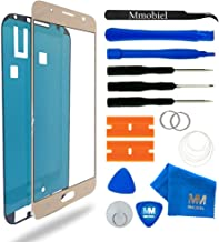 MMOBIEL Front Glass Replacement Compatible with Samsung Galaxy J7 (2016) J710 (Gold) Display Touchscreen incl Tool Kit