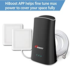 Cell Booster Mini, HiBoost APP Helps fine Tune max Power for Best Coverage, Signal Booster for Home and Office up to 2,000 Sq.Ft, Cell Phone Booster for Verizon, AT&T, T-Mobile, Sprint