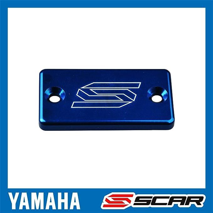 Scar Bremszylinder Deckel Vorne Kompatibel Mit Yamaha Yz Yzf Wrf 65 85 125 250 450 02 21 Blau Auto