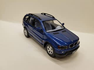 BMW X5 - Kinsmart 1:36 Pullback Diecast Model Blue