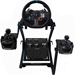 GT Omega Racing Wheel Stand PRO for Logitech G29 G920 with Shifter Mounts V1 & V2, Thrustmaster T500 T300 TX & TH8A - PS4 ...