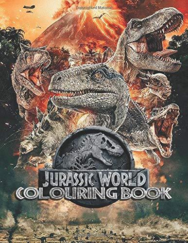 Jurassic World Colouring Books: Over 40+ Colouring