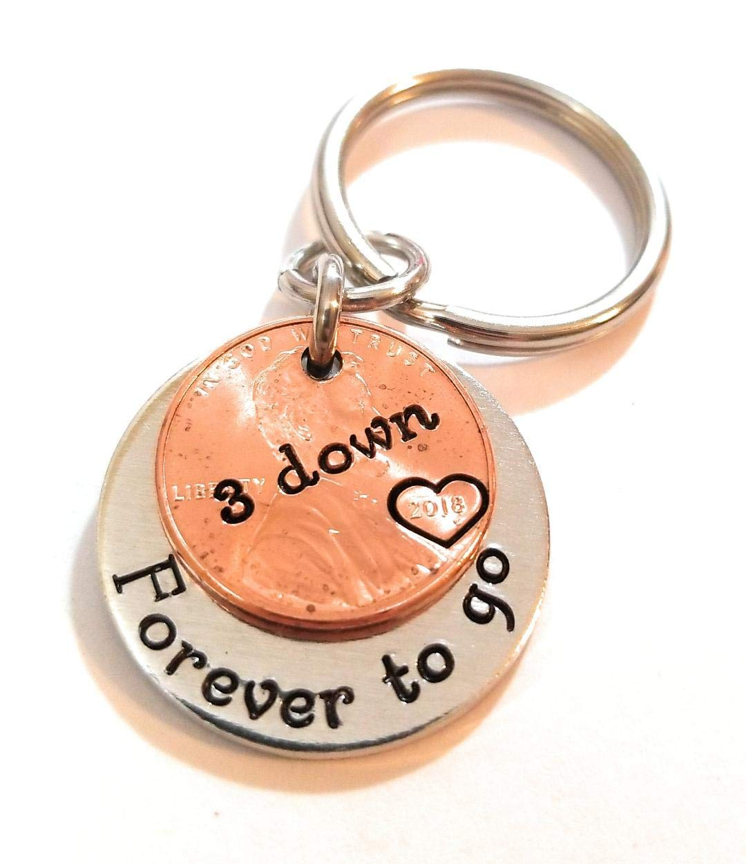 2018 Lucky Penny 3 Down and NEW before selling ☆ Forever Challenge the lowest price Year G 3rd Go Anniversary To