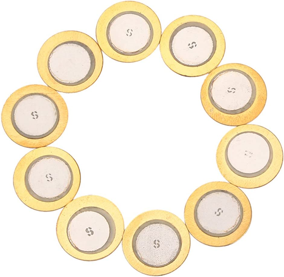 Harilla 10 Piezo Elements Buzzer Max All items in the store 45% OFF Sensor Drum 15mm Disc -