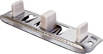 Prime-Line N 6560 Bypass Door Guide, Adjustable, Nylon/Steel,(Pack of 2)