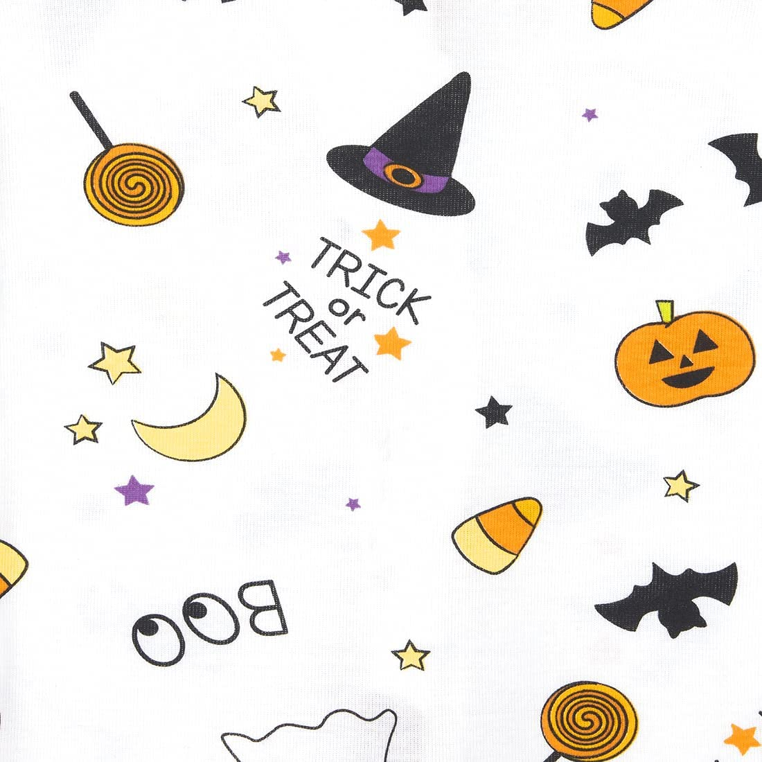 The Children's Place unisex-baby And Toddler Halloween Snug Fit Cotton One Piece Pajamas