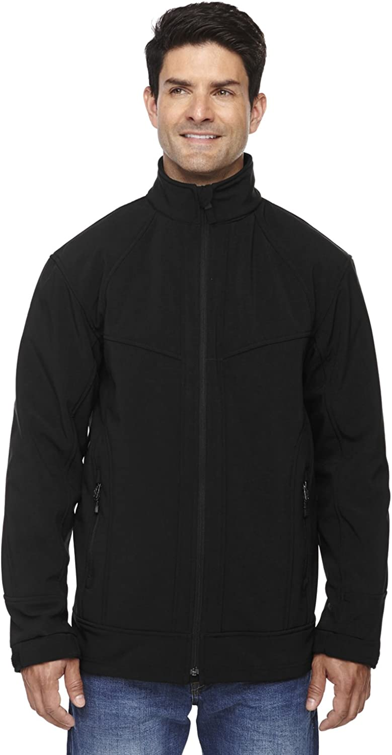 North End Mens 3-Layer Light Shell Jacket Bonded Jacksonville Mall Oakland Mall 88604 Soft