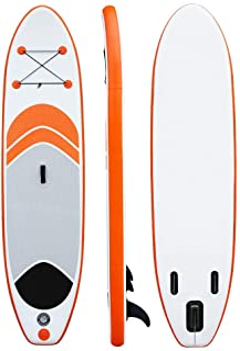Tabla de paddle 10 pies de pie Juego de tablero SUP Juego de paletas ajustables de aluminio, bomba, kit de reparación, mochila y correa Ideal for principiantes Juego de tablas de remo inflables Paleta