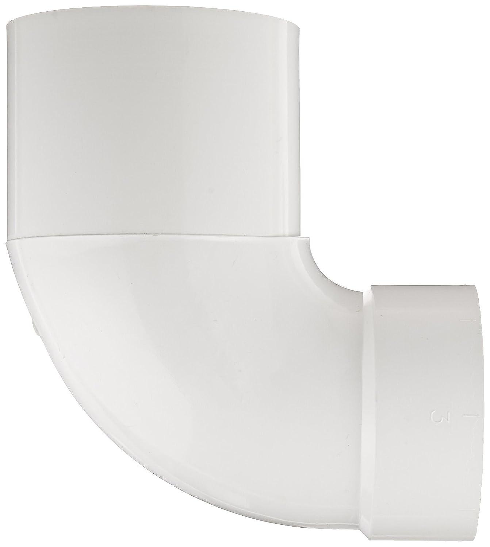 "Spears P309 PVC DWV Pipe Fitting 6/"" Hub x 6/"" Spigot Long Sweep Elbow 1//4 Bend"
