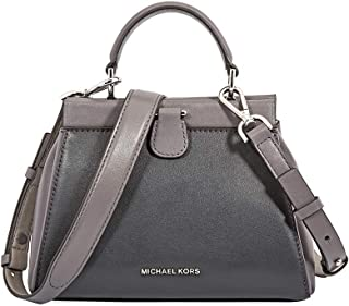 Michael Kors Gramercy Frame Small Leather Satchel