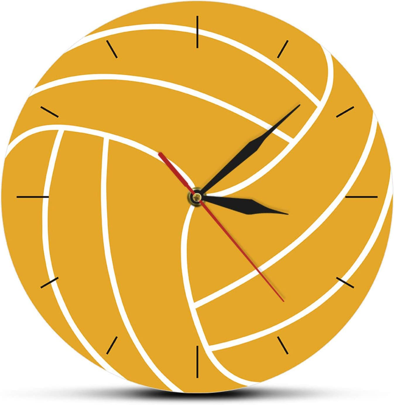 Wall Clock Popular shop is the lowest price challenge Volleyball Ball quality assurance 3D Mov Silent Visual Print
